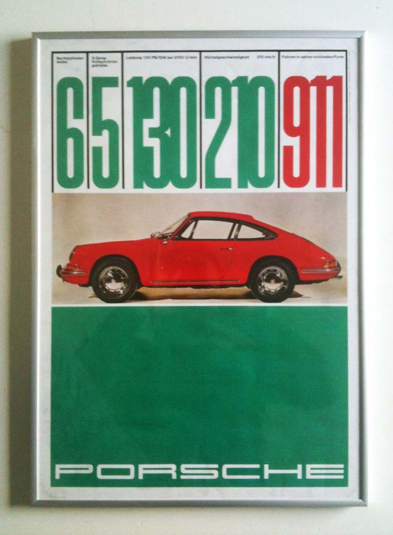 Porscheposter